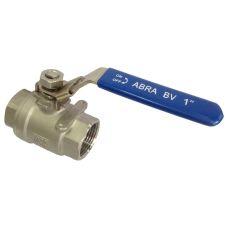 Кран шаровой полнопроходный резьбовой SS316 ABRA-BV027A